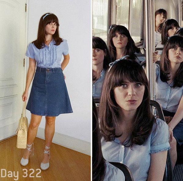 500 dias com ela, 500 days of Summer, project, summer finn clothes, roupas Summer Finn, Summer Finn apartment, apartamento Summer Finn, 500 days of summer clothes, roupas 500 dias com ela, 500 days of summer apartment, apartamento 500 dias com ela, retrô, vintage, zooey deschanel, style, guarda roupa summer finn, wardwrobe summer finn, day 322, dia 322, bus clone scene, she is like de wind, I hate this music, várias summers no ônibus