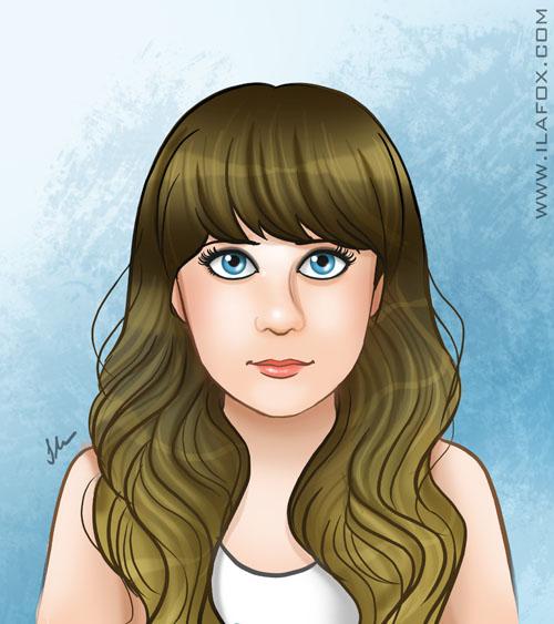 30 Day Drawing Challenge, Yourself, Desafio dos 30 dias de desenho, Eu mesma, auto retrato, by ila fox
