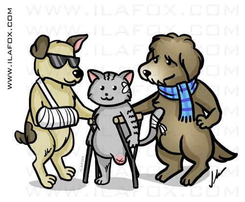 Ilustração animais especiais, brigada planetária, by ila fox