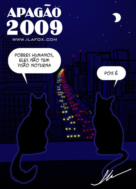 ilustração apagão 2009 by ila fox