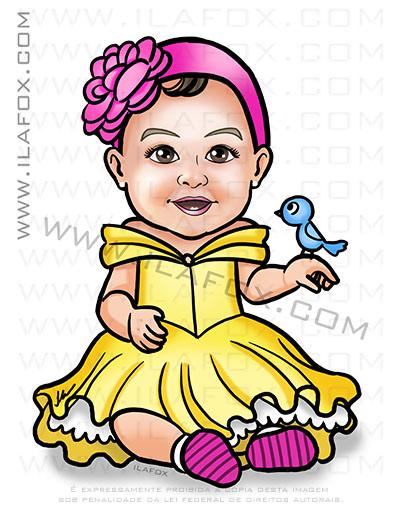 caricatura personalizada, caricatura infantil, caricatura para bebê, caricatura bonita, by ila fox