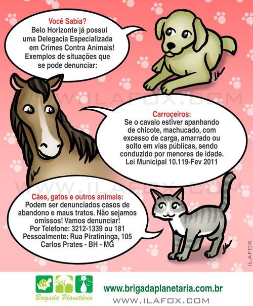 delegacia animal, ilustração, brigada planetária, by ila fox