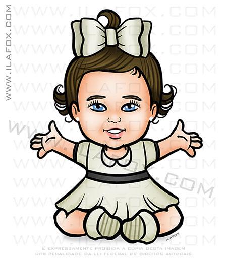 desenho infantil, desenho personalizado, personalizar lembrancinhas, caricatura de crianças, by ila fox
