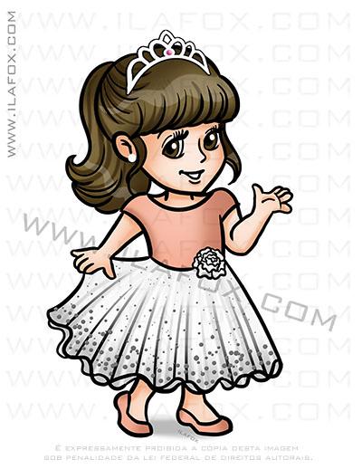 caricatura desenho, caricatura infantil, caricatura princesa, caricatura by ila fox