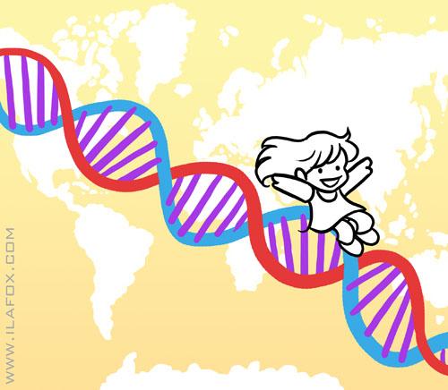 mapeamento genético, exame genes, genética, antepassados, descendencia, ancestrais, 23andme, by ila fox