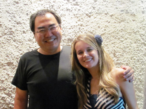 Encontro Hiro Kawahara, ila fox, pizzaria Pomodori, Belo Horizonte