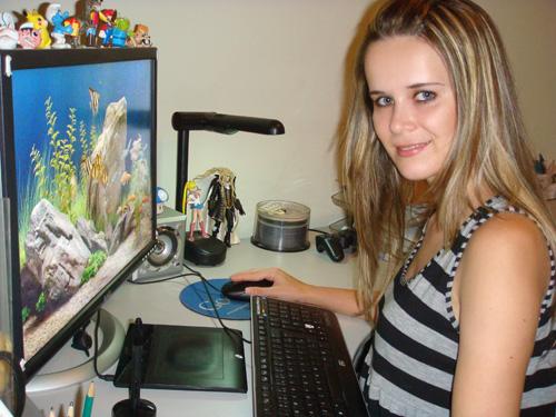 escrivaninha da Ila Fox de trabalho em Belo Horizonte