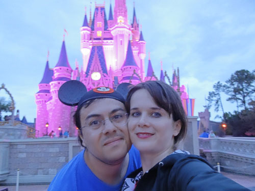 Disney World, Castelo Cinderela noite, retrospectiva 2011, ila fox
