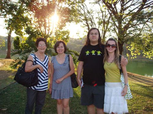 Foto família Ila, Belo Horizonte, Minas Gerais, 2010