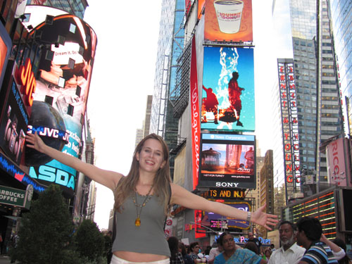 Foto Ila Fox, Times Square, New York, EUA, 2010