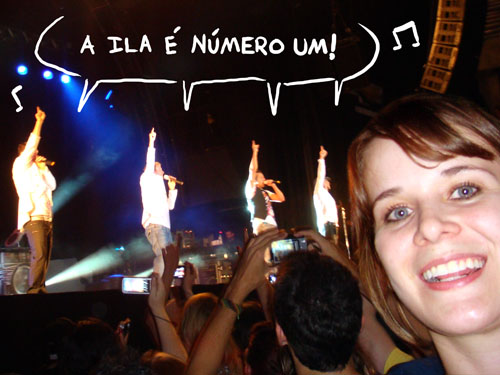 Show Backstreet Boys em BH, Eu e Backstreet Boys, foto, ila fox