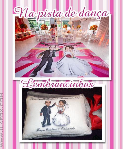 cariactura noivos, caricatura noivinhos, caricatura casal dançando, festa de casamento, by ila fox