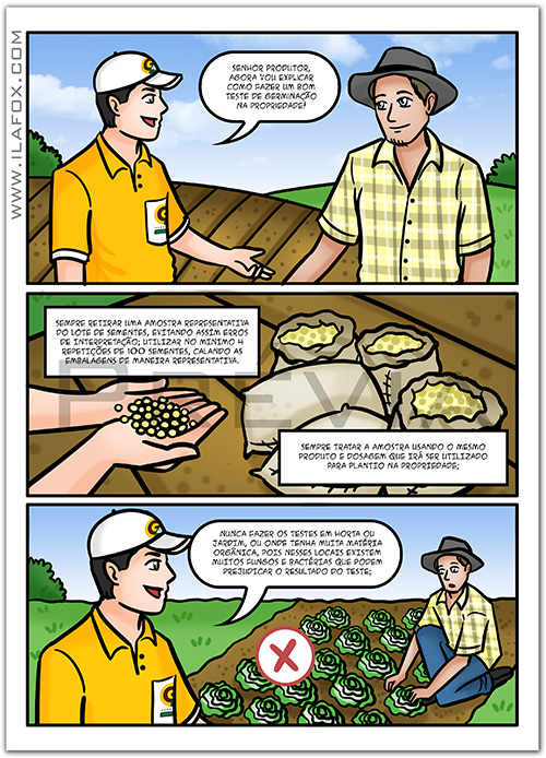 quadrinhos corporativos, quadrinhos empresariais, quadrinhos sementes, quadrinhos informativos, quadrinhos gráficos, by ila fox
