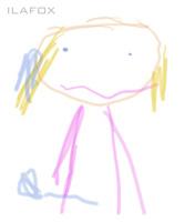 desenho de criança garatuja 1 a 3 anos