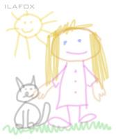 desenho de criança garatuja 4 a 5 anos