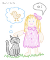 desenho de criança garatuja 5 a 6 anos