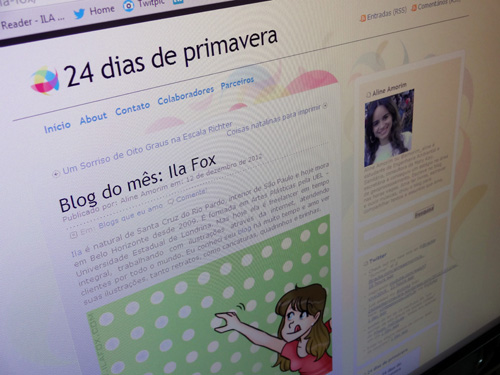Ila Fox no 24 dias de primavera, blog da aline, by ila fox