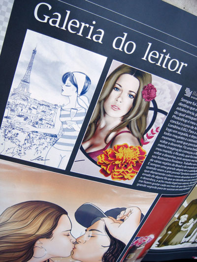 Ila Fox na revista Photoshop Creative número 20