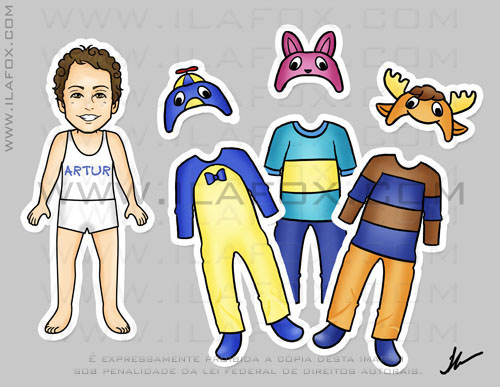 Lembrancinha original imã Backyardigans, Pablo, Tyrone, Austin, by ila fox