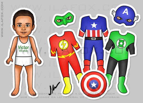 Lembrancinha menino, Lembrancinha criança negra, Lembrancinha menino negro, lembrancinha original, lembrancinha imã de roupinhas, lembrancinha Vingadores, Lembrancinha Lanterna Verde, Lembrancinha Flash, Lembrancinha Capitão América, by ila fox