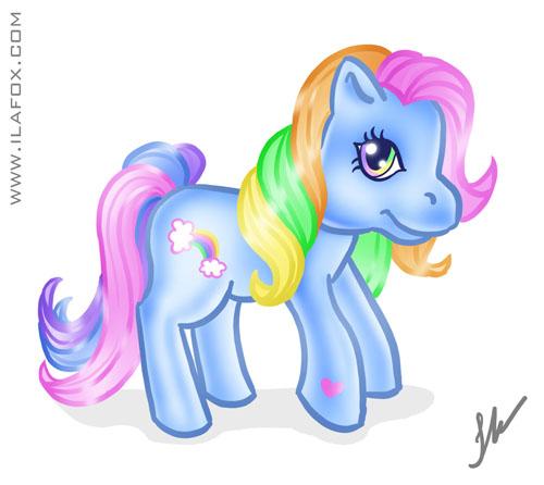 Querido poney, Little Pony, Rainbow Dash, desenho de criança, garatuja