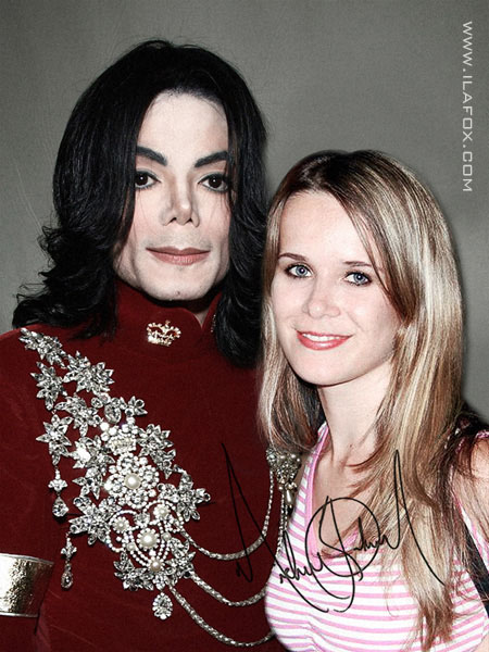 MJ Michael Jackson e Ila Fox