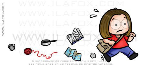 caricatura fofinha, by ila fox
