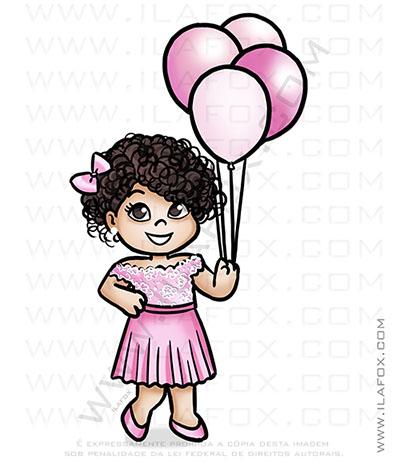 caricatura delicada, caricatura infantil, caricatura balões, by ila fox