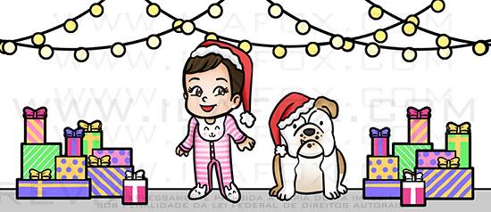 caricatura fofinha, caricatura menina, caricatura cachorrinho, by ila fox