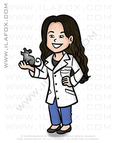caricatura fofinha, caricatura simples, caricatura pequena, caricatura fofa, caricatura mini, caricatura biologia, ila fox