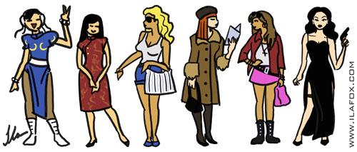mulheres Li, Lin, Elin, Elina, Angelina, Angelina Jolie