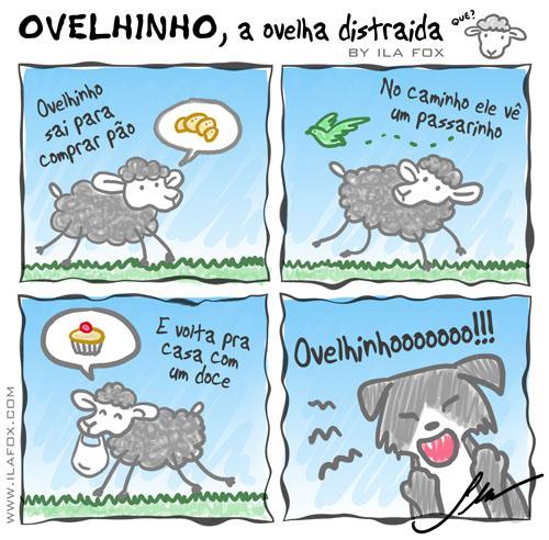 carneiro ovelha, ovelhinho, a ovelha distraída ila fox