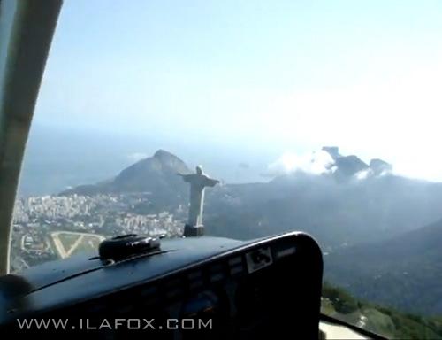 Pareidolia da Ila no céu do Rio de Janeiro
