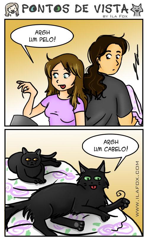 pontos de vista quadrinhos by ila fox