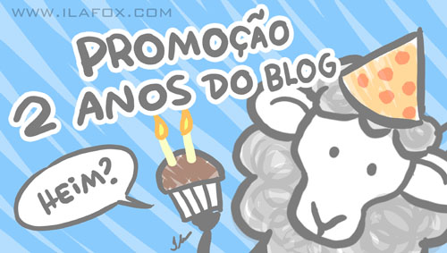 Promoção, dois anos do blog, Onde está o Ovelhinho, by ila fox