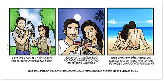 historia em quadrinhos, quadrinhos personalizados, quadrinhos noivos, quadrinhos para casamento, historia em quadrinho digital, by ila fox