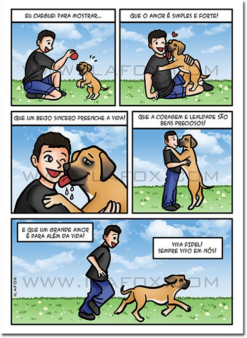 Quadrinhos personalizados, quadrinhos, quadrinhos animais estimação, homenagem animais estimação, presente especial, by ila fox