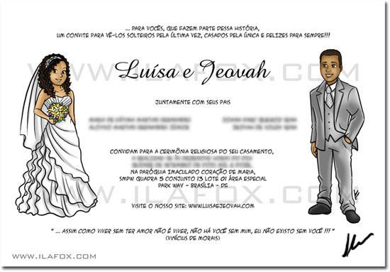 quadrinhos personalizados, quadrinhos casamento, quadrinhos historia casal, by ila fox