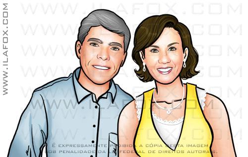 retrato casal, retratos personalizados, retratos família, by ila fox