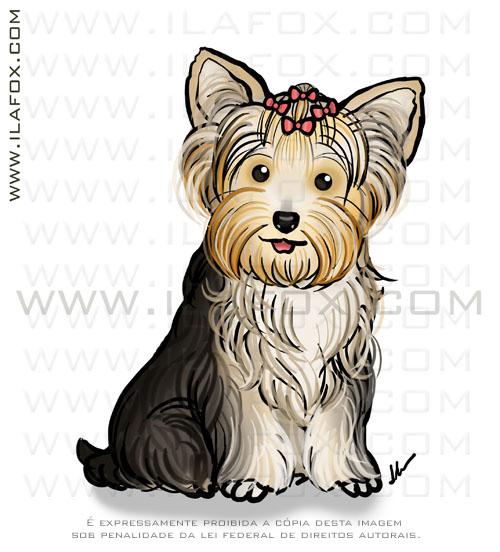 retrato personalizado, retrato animal estimação, retrato pet, retrato cachorrinho, by ila fox
