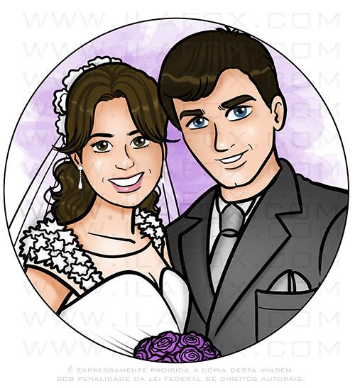 retrato casal, retrato bonito, retrato presente, retrato desenho, retrato digital, by ila fox