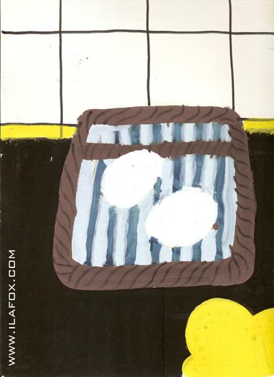 Técnica de pintura com ovo, Tempera Ovo, tinta com ovo, by ila fox