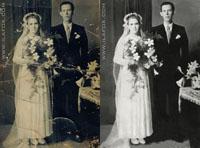 restauração de fotos antigas by ila fox