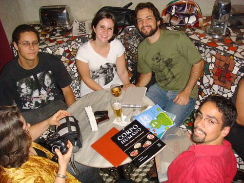 Trem Bão Ilustrado, Café com Letras, Belo Horizonte, Bruno Grossi, Begê, Turadinhas, Diane, Iriam