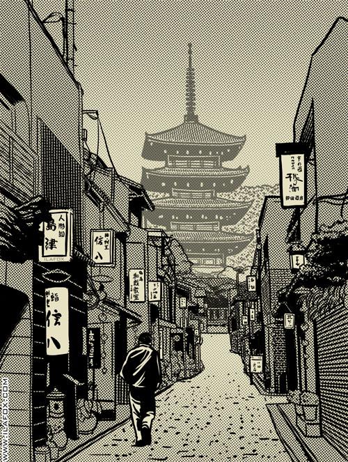 ilustração yasaka by ila fox