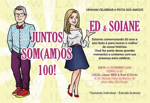 caricatura desenho, caricatura amigos, caricatura aniversário, caricatura divertida, by ila fox