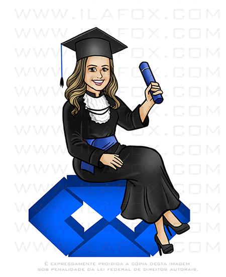 caricatura formanda, caricatura formatura, caricatura administração, caricatura bonita
