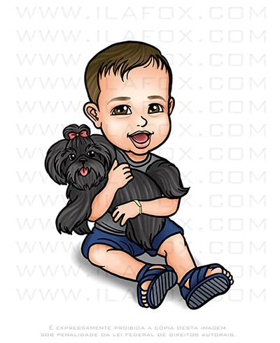 caricatura desenho, caricatura criança, caricatura menino, caricatura personalizada criança, by ila fox
